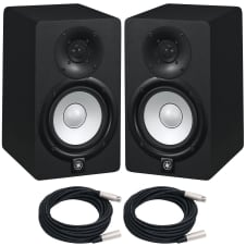 yamaha hs5 pair. Yamaha HS5 Powered Bi-Amplified Studio Monitor (PAIR) Hs5 Pair