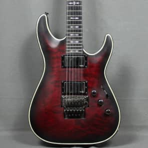 Schecter Hellraiser Extreme C-1 FR E w/ Floyd Rose Crimson Red Burst Satin w/ Ebony Fretboard