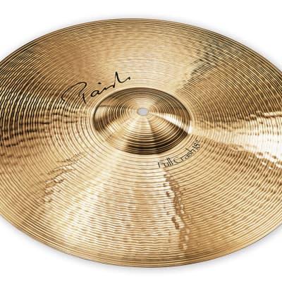 "Paiste Signature Full Crash Cymbal 18"""