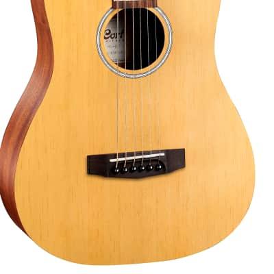 Cort ADMINIOP Standard Series Dreadnought 3/4 Size Mahogany Neck 6-String Acoustic Guitar w/Gig Bag