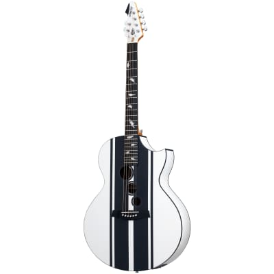 Schecter DJ Ashba Acoustic Satin White SWHT Acoustic-Electric Guitar B-Stock for sale