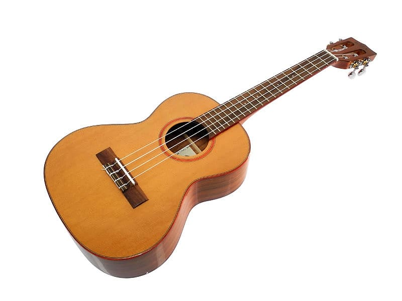 KALA Solid Cedar Top, Acacia Back, High Polish, Tenor | Reverb