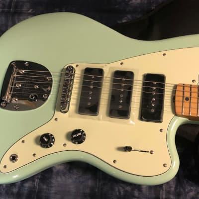 NEW! 2021 Fender Noventa Jazzmaster - Surf Green Finish - Authorized Dealer - Gig Bag - In-Stock!