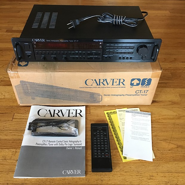 Carver ct 17 preamptuner wbox manual remote reverb carver ct 17 preamptuner wbox manual remote publicscrutiny Image collections