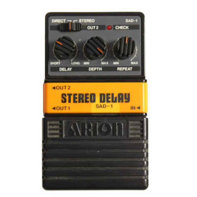 Arion SAD-1 Stereo Analog Delay - Made in Japan w/box for sale