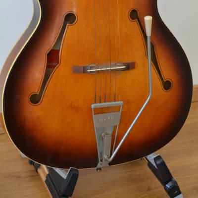 Alta Gitarre Guitar Defil Jazz Schlaggitarre Archtop for sale
