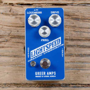 Greer Amps Lightspeed Organic Overdrive MINT