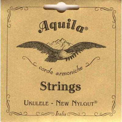 Aquila USA 4U High G Soprano Ukulele String Set - All Nylgut