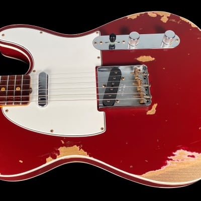 2020 Fender Telecaster 1960 Custom Shop 60 Heavy Relic Tele ~ Cimarron Red for sale