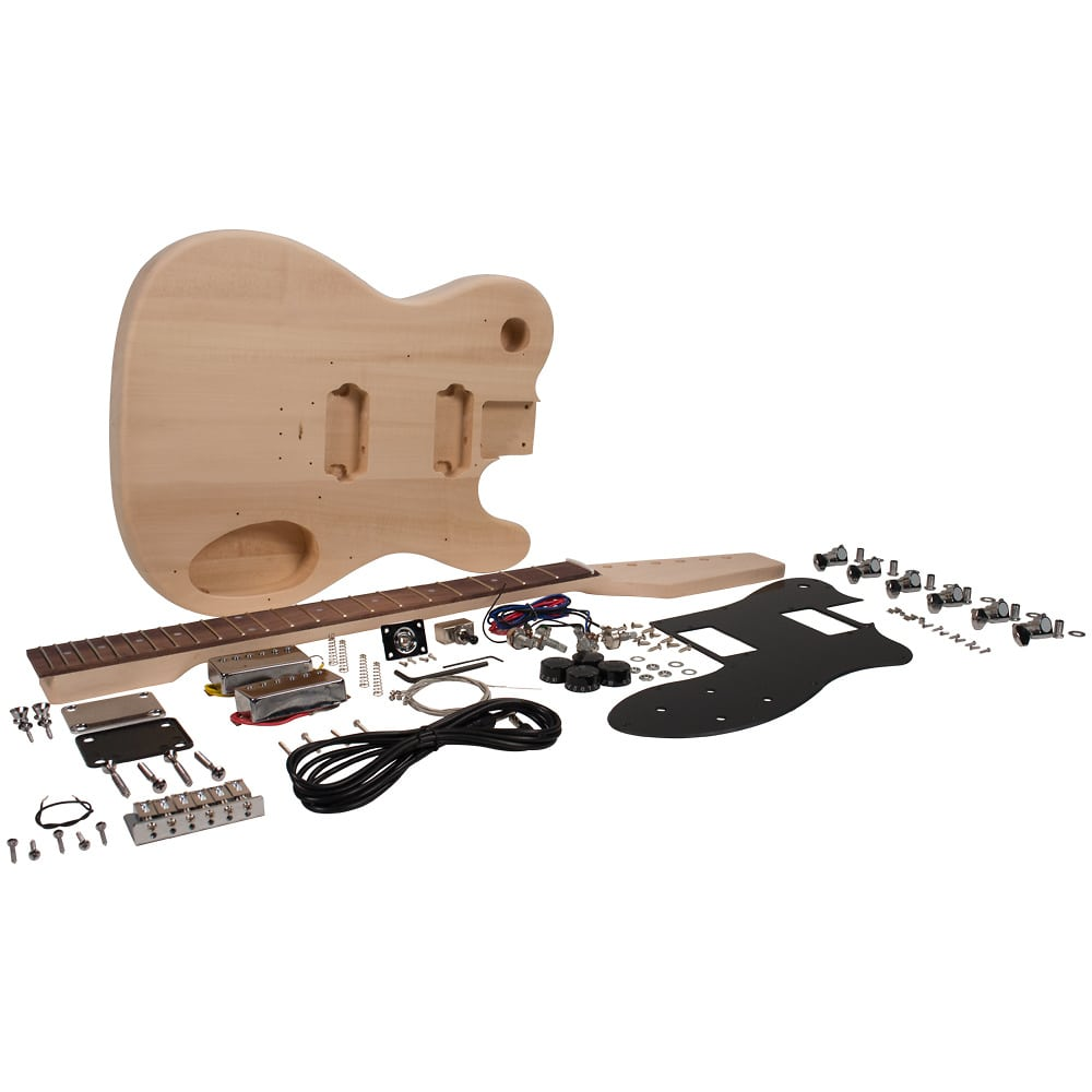 premium diy tele style electric guitar kit dual humbuckers reverb. Black Bedroom Furniture Sets. Home Design Ideas