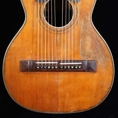 Oscar Schmidt Stella  Circa 1921 Rebuilt Harp Guitar