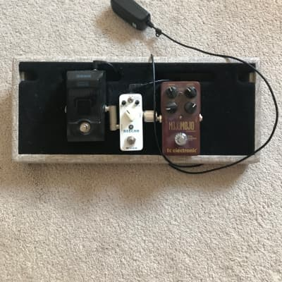 Creation pedal board  Korg, Moore, tc electronic  2017 for sale