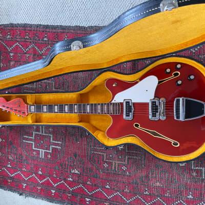 Fender Coronado  1967 Candy Apple Red