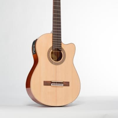 Monterey MC-935CES Full Size Classical Guitar with Pickup - Solid Top - RRP: $319.95 - 50% OFF! for sale