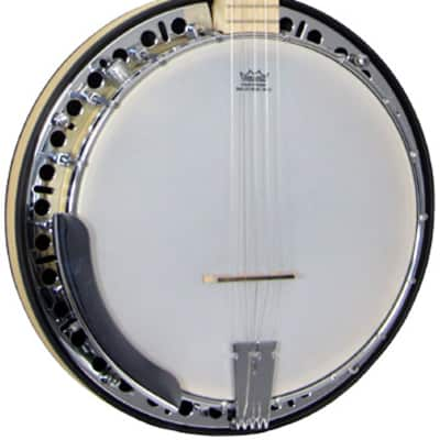 Ashbury GR37024E 5 String  Eectro Acoustic Resonator Banjo 2017 Maple natural bonde for sale