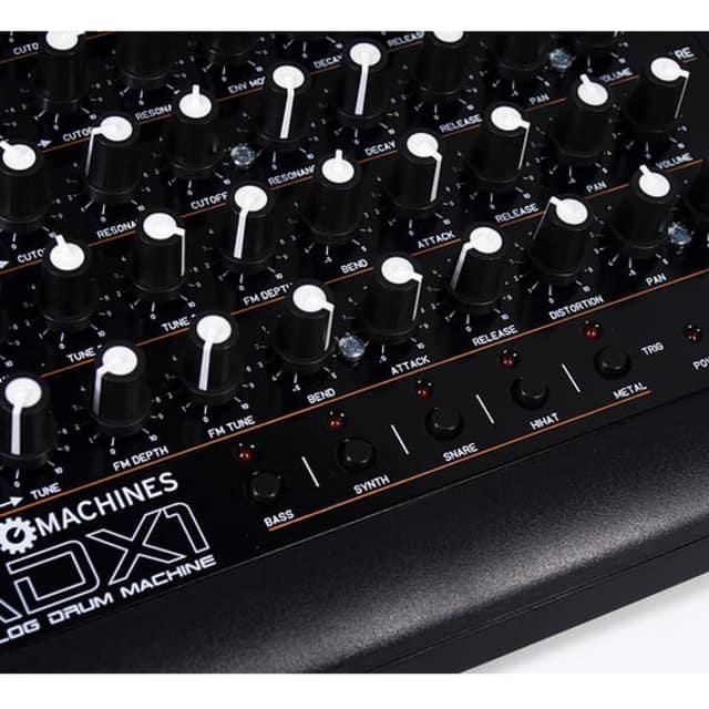 MODE MACHINES ADX-1 2018 Black Analogue Synthesizer Drumcomputer image