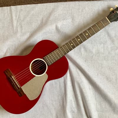 """GREMLIN Model 123 Vintage Acoustic 3/4 Guitar 36"""" Rare USA Made Painted Good Condition for sale"""