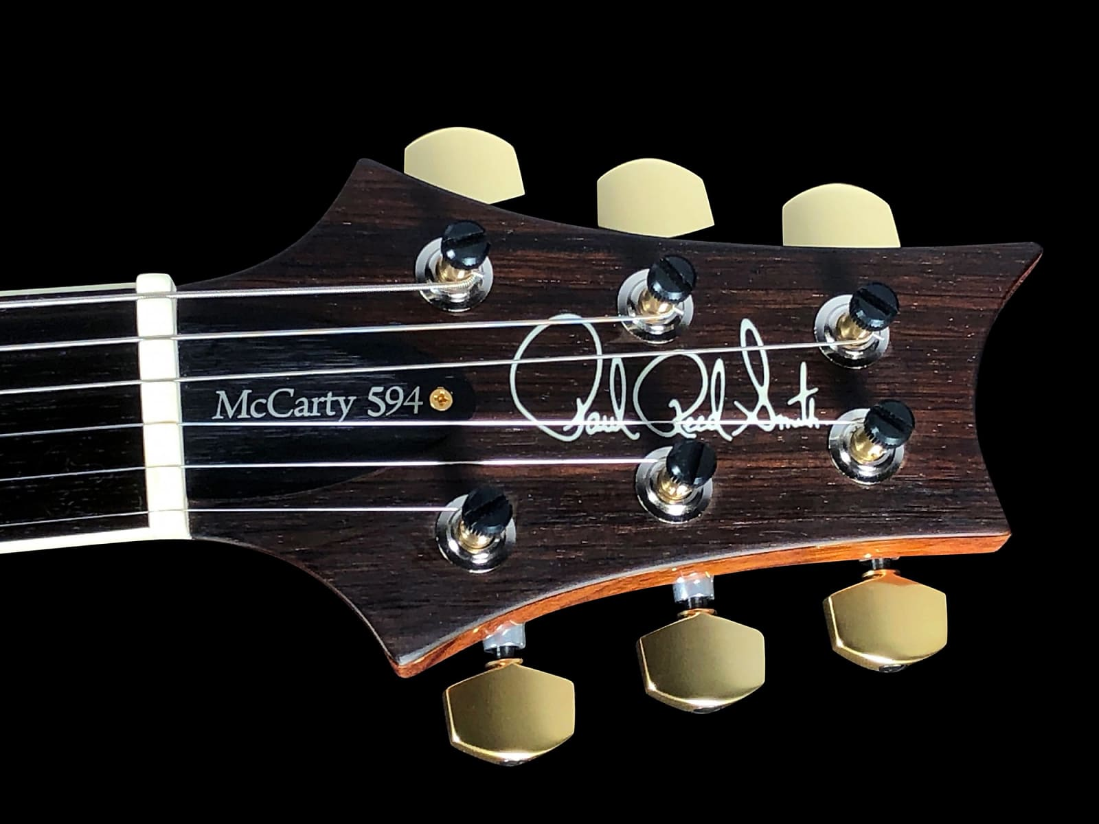 2018 Paul Reed Smith PRS McCarty 594 Semi-Hollow Wood Library 10 Top w Single F Hole Brazilian