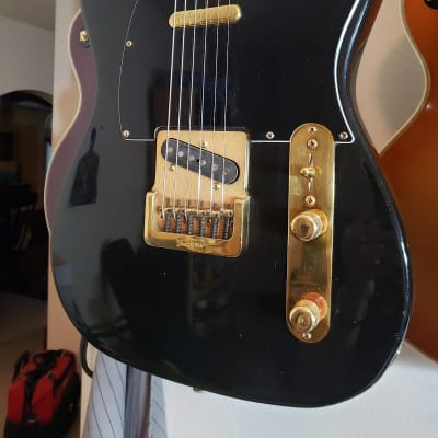 Fender Telecaster 1981 Black And Gold Vintage for sale