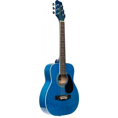 Stagg 1/2 Size Dreadnought Acoustic guitar in Blue Gloss for sale
