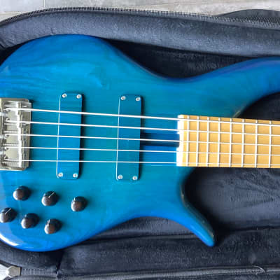 FBass BN5 Fretted 2008 Transparent Blue