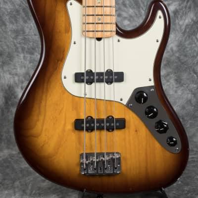 Fender American Deluxe Jazz Bass 2004 Sunburst for sale