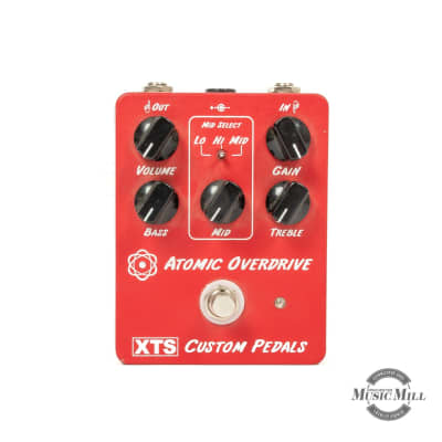 XTS Atomic Overdrive Pedal (USED) x8318