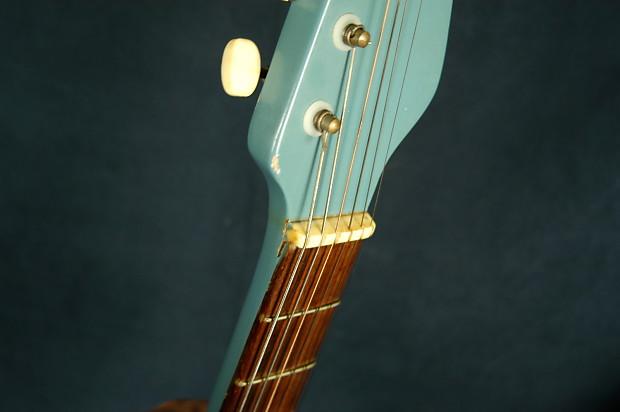 vintage 1950 39 s relic electric guitar unlabeled robin reverb. Black Bedroom Furniture Sets. Home Design Ideas