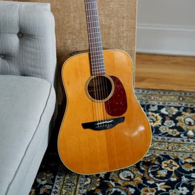 Takamine EN 10 1980's Cedar top / Mahogany sides and back for sale