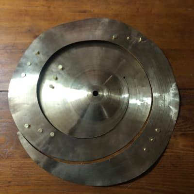 "Cymbalheaven.biz 16"" spiral 15 rivets 2021 Traditional"