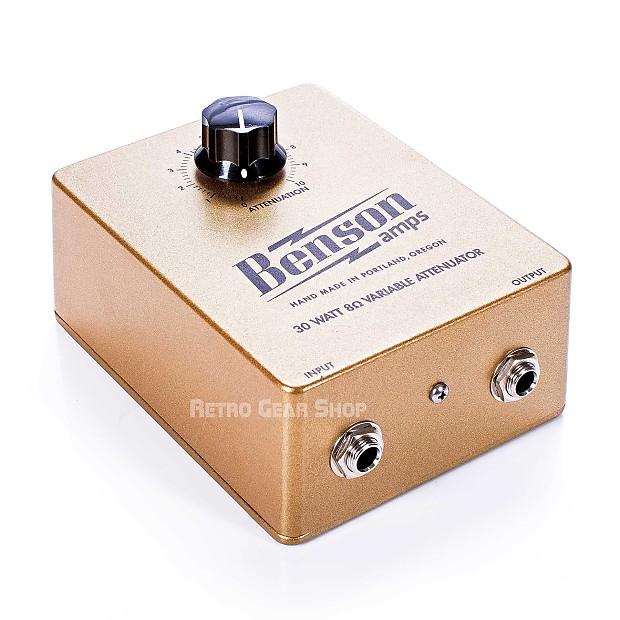benson amps 30 watt 8 ohm attenuator for guitar amplifiers reverb. Black Bedroom Furniture Sets. Home Design Ideas