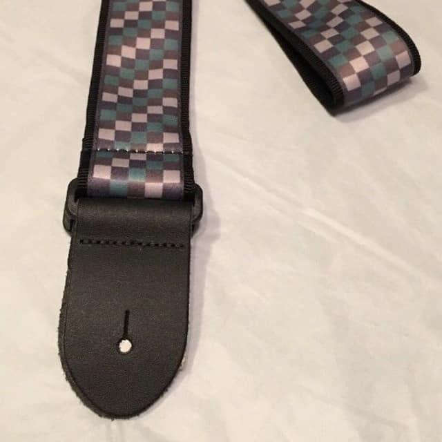 """Echosonic 2"""" Guitar Strap, Checkerboard Pattern Design in Camo Colors ECHO-C06 CAMO image"""