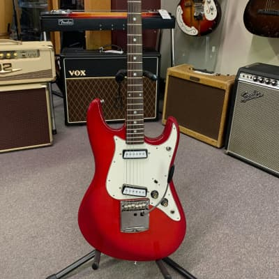 Lyle Electric Solid Body Guitar 1960s Red for sale
