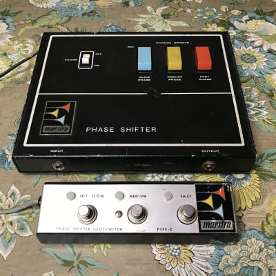Maestro PS-1A Phase Shifter + Footswitch 1970's for sale