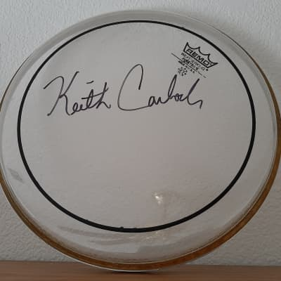 "10"" Remo Drumhead - Signed by Keith Carlock!"