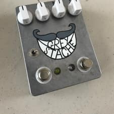 Fuzzrocious Grey Stache (modded) 2017 Grey (hand painted design)