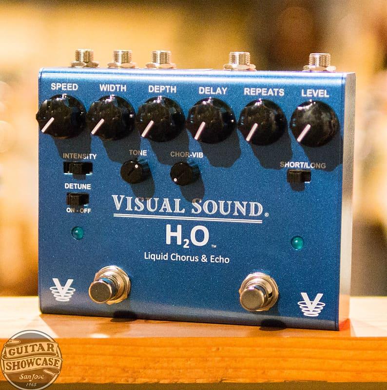 visual sound h2o liquid chorus and echo pedal v3 reverb. Black Bedroom Furniture Sets. Home Design Ideas