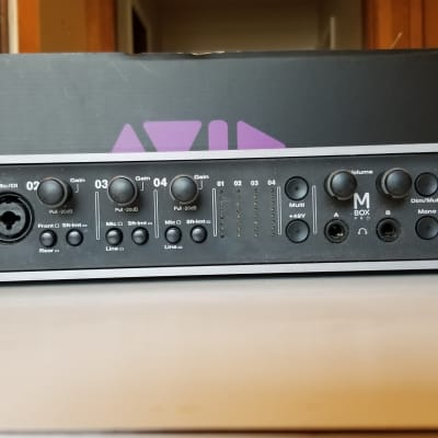 Avid Mbox 3 Pro Firewire Audio Interface Reverb