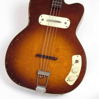 Kay K5965 Pro Bass 1961 Sunburst for sale