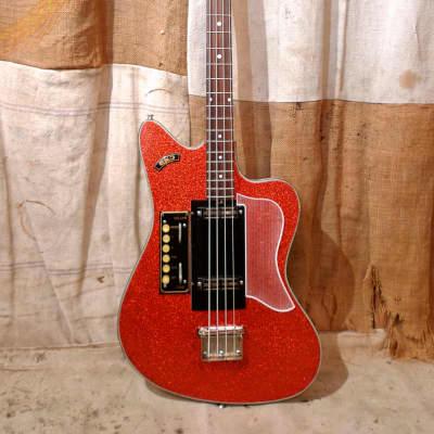 Eko Ekomaster Bass 1961 Red Sparkle