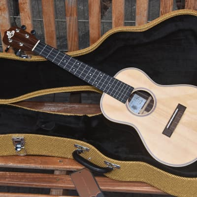 Lo Prinzi MRS-T Tenor Ukulele Handmade in USA w/HSC for sale