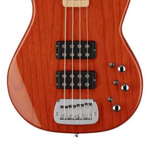 G&L Tribute Series L-2000 with Maple Fretboard Clear Orange