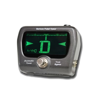 GoGo Chromatic True Bypass Horizon Pedal Tuner