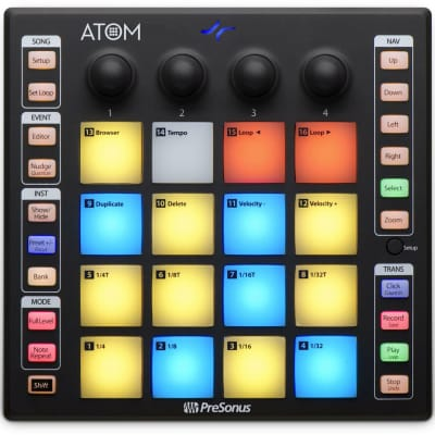 PreSonus Production and Performance Pad Controller And Impactful creation ATOM - New