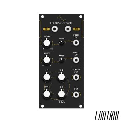 Tiptop Audio Fold Processor (Black)