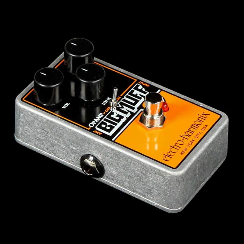 electro harmonix op amp big muff pi fuzz pedal reverb. Black Bedroom Furniture Sets. Home Design Ideas
