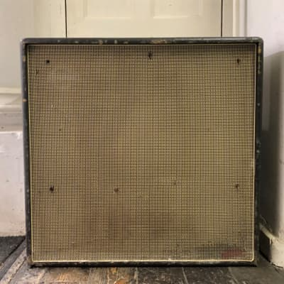 Vintage Carlsbro  1x15 bass guitar cab  loaded with a HH driver 1960's for sale