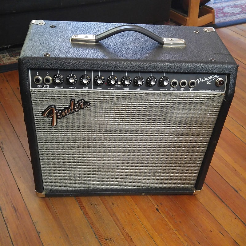 fender princeton 65 1x12 65w solid state guitar amp m113862 reverb. Black Bedroom Furniture Sets. Home Design Ideas