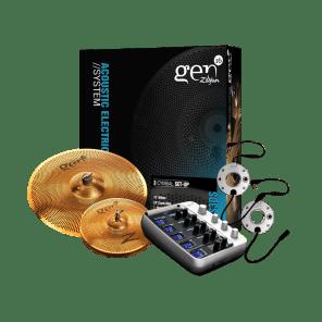 "Zildjian 38DS Gen16 Buffed Bronze Box Set 13/18"" Cymbal Pack"