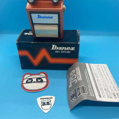 Ibanez JD9 Jet Driver Overdrive w/Original Box | Fast Shipping!